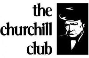 Pete at The Churchill Club's Outsource Offshore Event