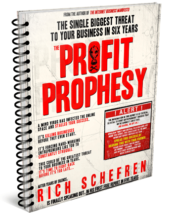 Rich Schefren Releases 1st Report in 5 Years