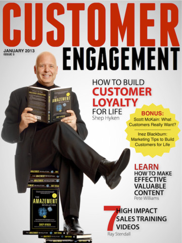 Pete Williams Featured in Customer Engagement Magazine